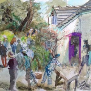 Lottie's Garden Party by Julienne Braham
