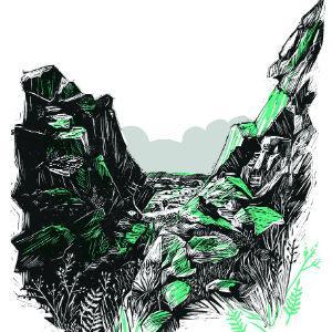 Through the Rocks by Amanda Hillier