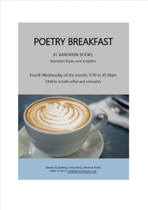 Poetry Breakfast with Anna Dreda