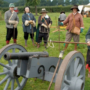 Brampton Bryan 375th Anniversary Civil War Re-Enactment