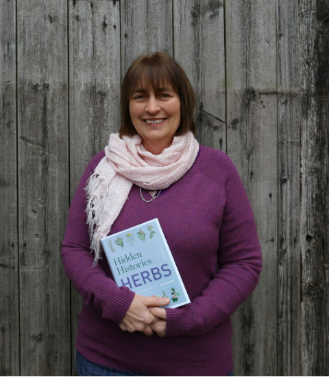 Kim Hurst, author of Herbs