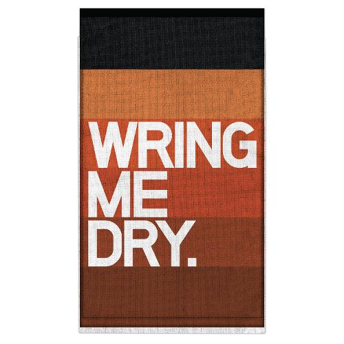 Knock Knock Wring Me Dry. Bar Towel (Knock Knock Bar Towel)